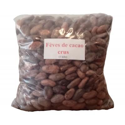 Cacao en grain, cru - 1 kilo