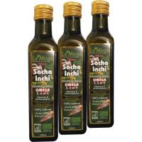 Huile de Sacha Inchi source d'Omégas- Lot de 3 bouteilles