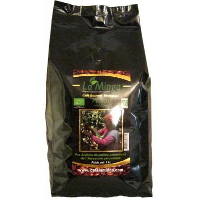 Café en grain - sachet de 1 kilo